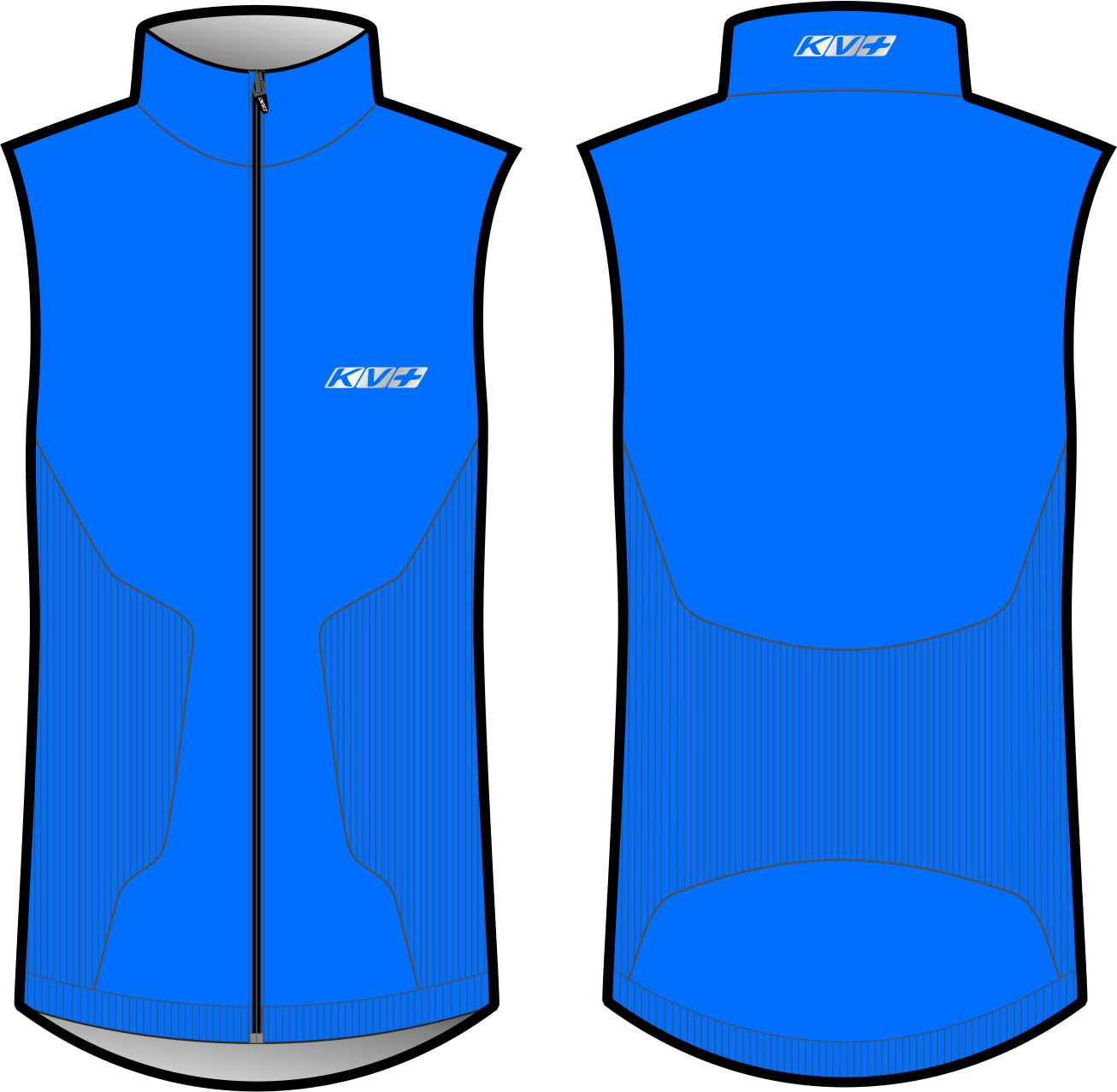 SEAMLESS VEST UNISEX (blue)