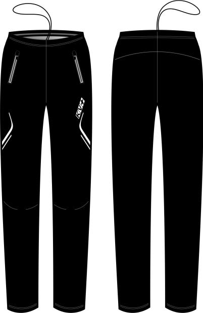 CLUB PANTS UNISEX full side zip (3)