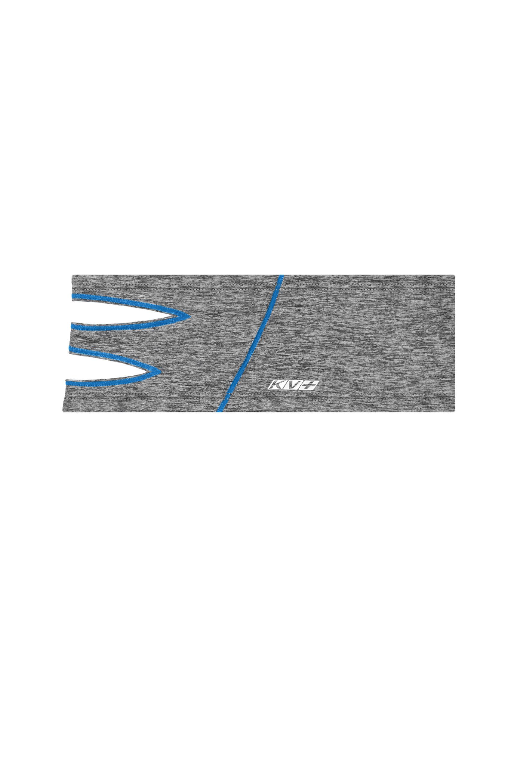 FOX HEADBAND  (grey/blue)