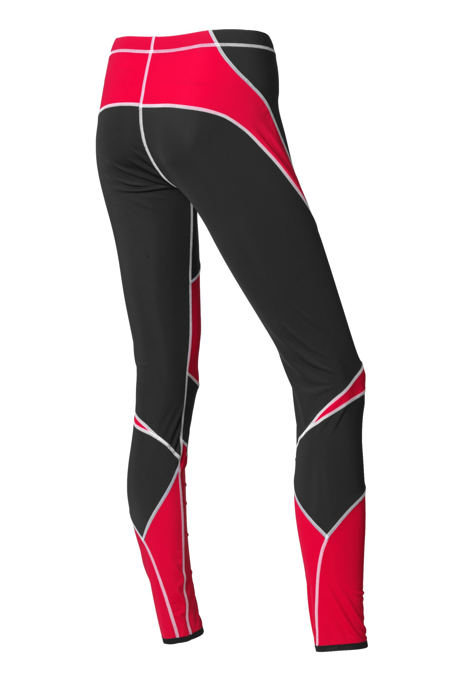 LAHTI TWO PIECES SUIT UNISEX (black/red)