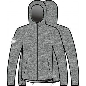 JERSEY FOCA man with hood (gray/black)