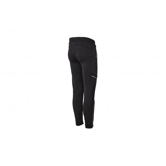 DAVOS PANTS UNISEX half side zip (black)