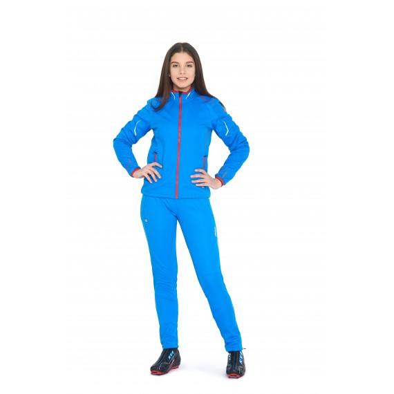 CROSS JACKET UNISEX  (blue)