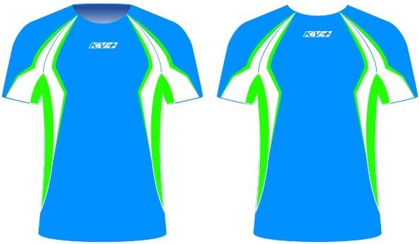 SPRINT T-SHIRT unisex (blue/green)