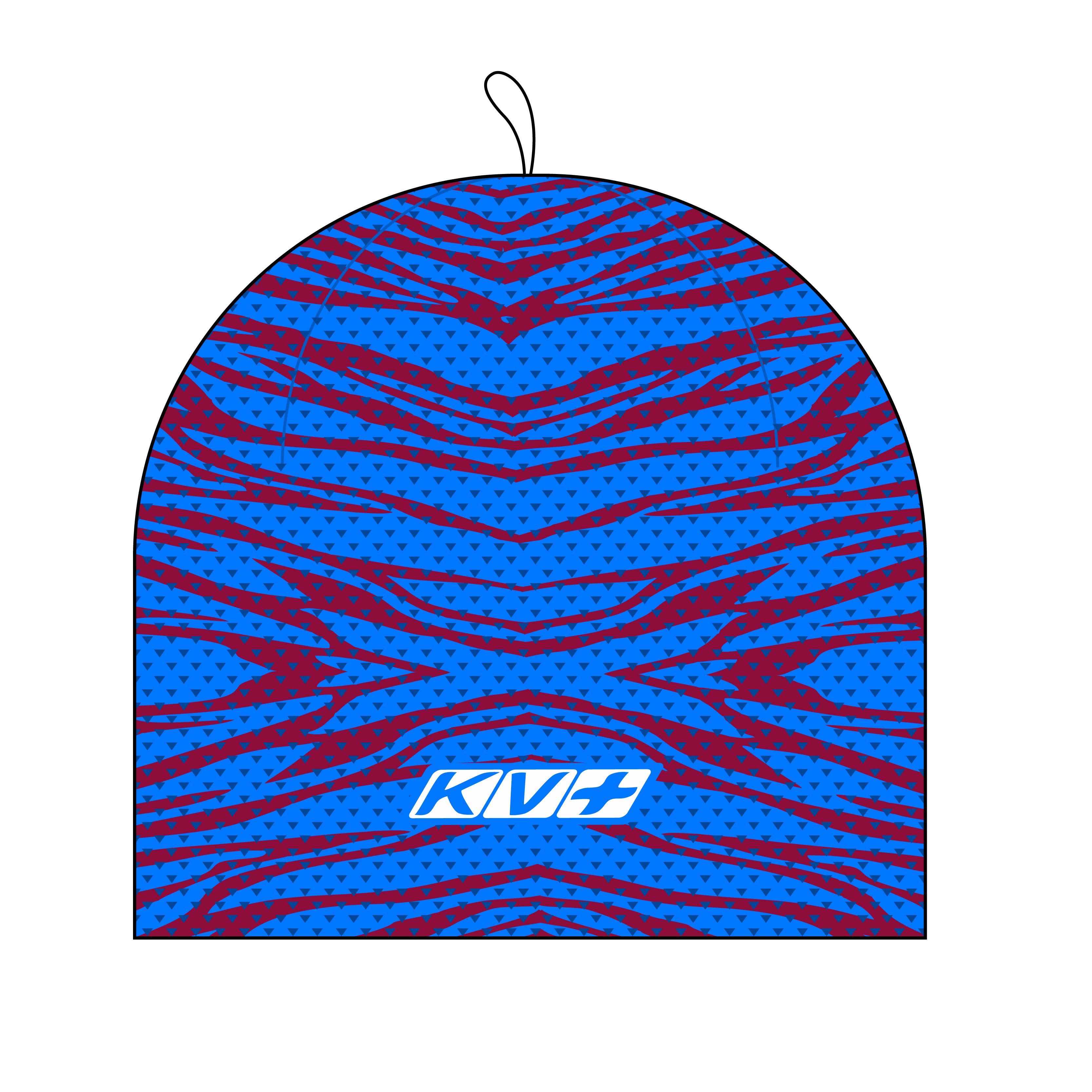 PREMIUM HAT  (red/blue)