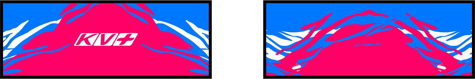 TORNADO HEADBAND (blue/pink)