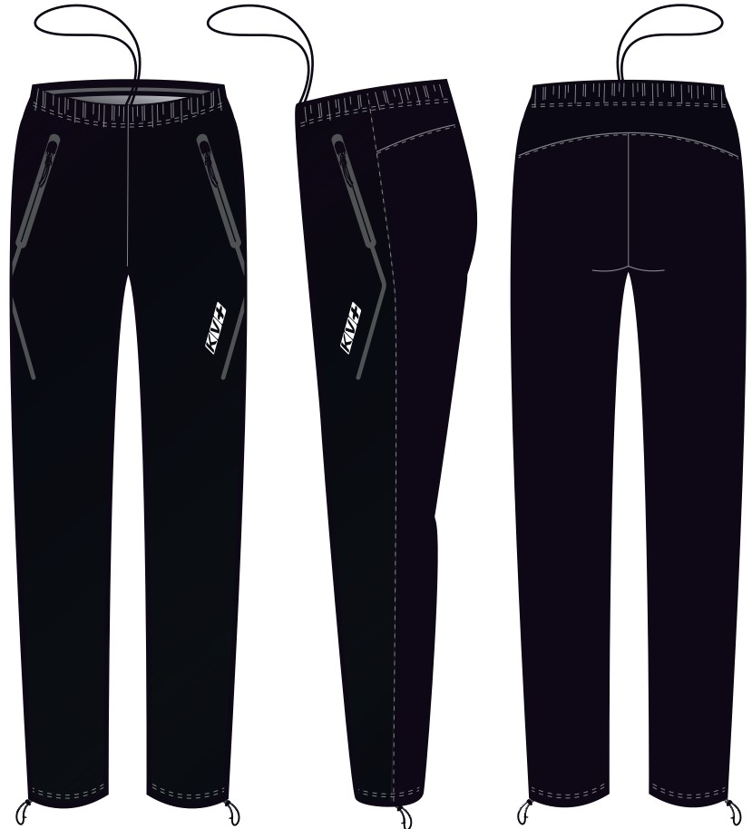 IRELAND PANTS UNISEX (WATERPROOF) (black)