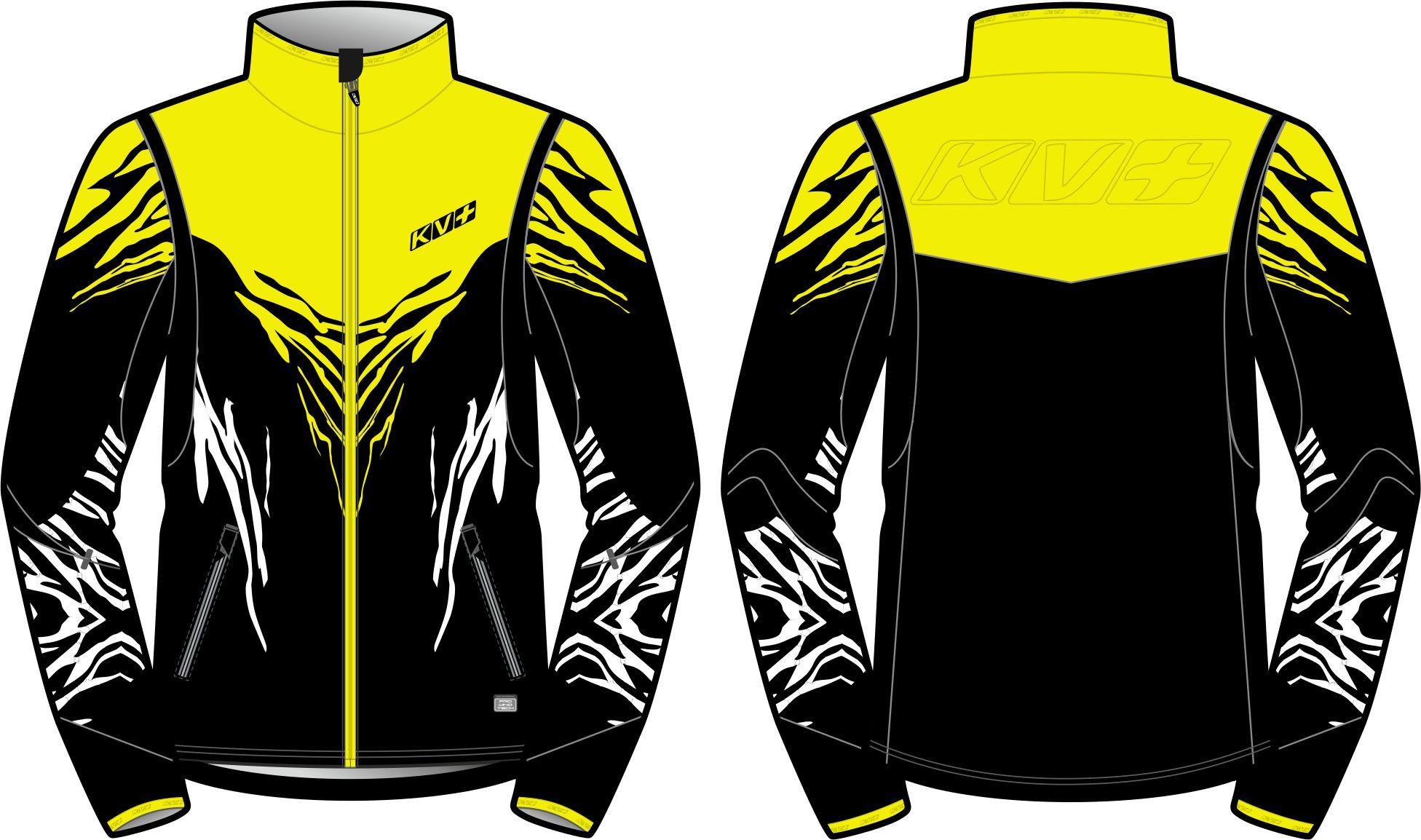 TORNADO JACKET MAN (black/yellow)