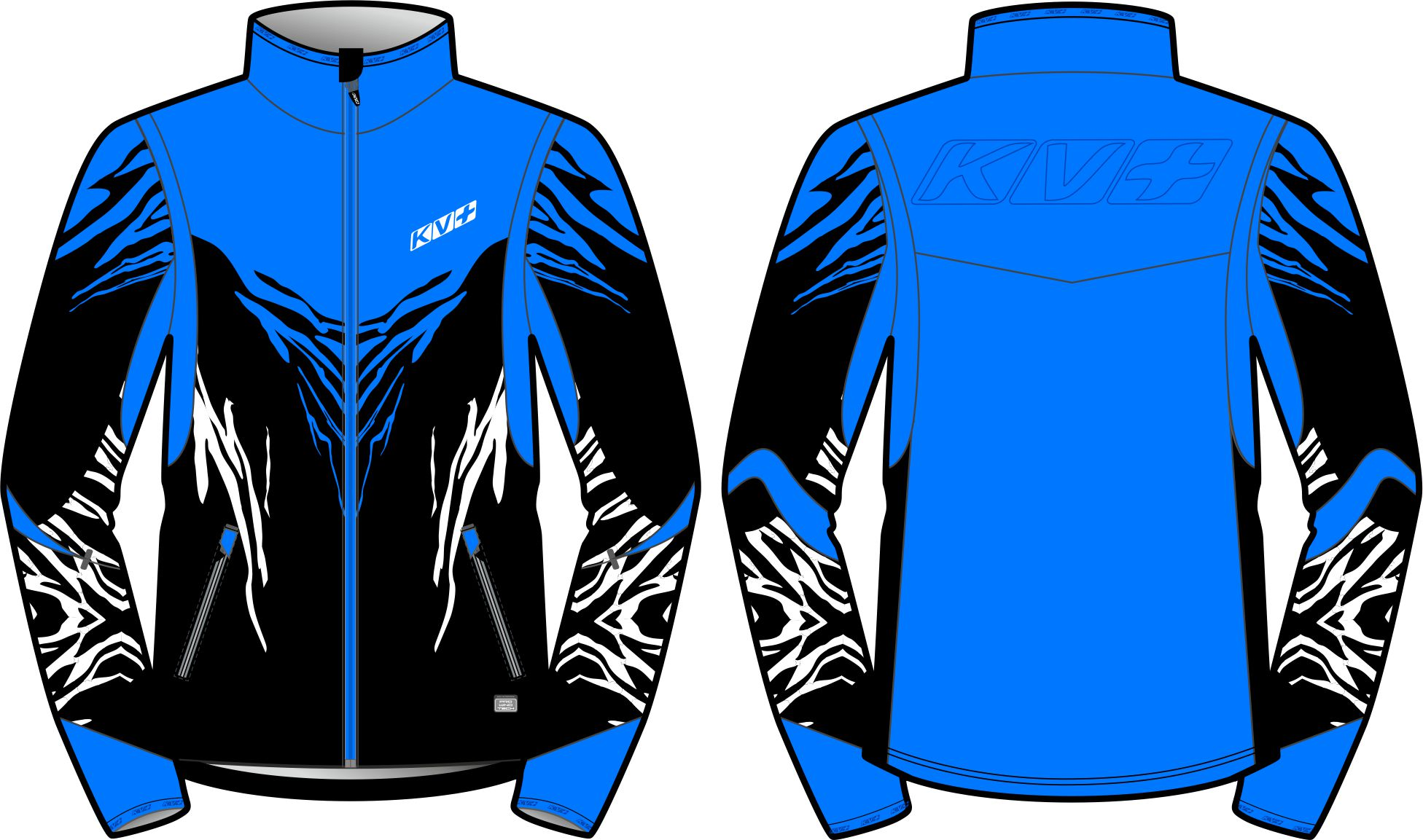 TORNADO JACKET MAN (black/blue)