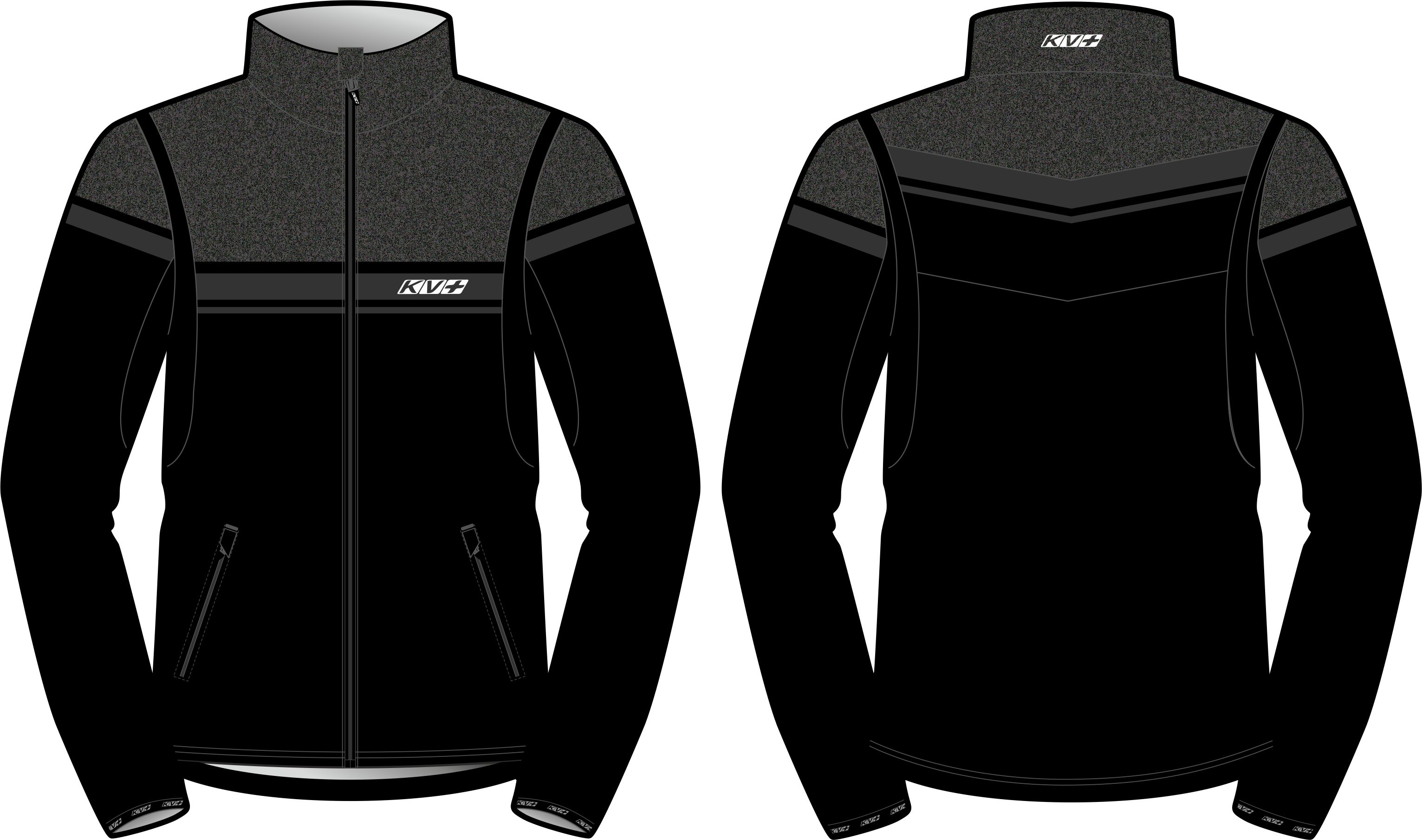 SPRINT JACKET MAN (black/grey)