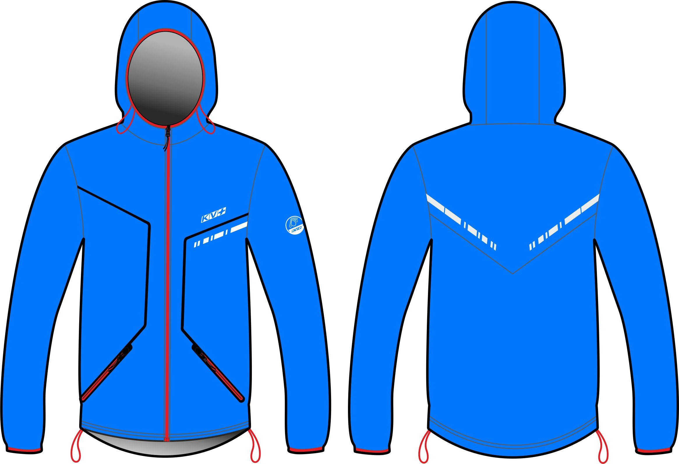 IRELAND WATERPROOF JACKET unisex (blue)