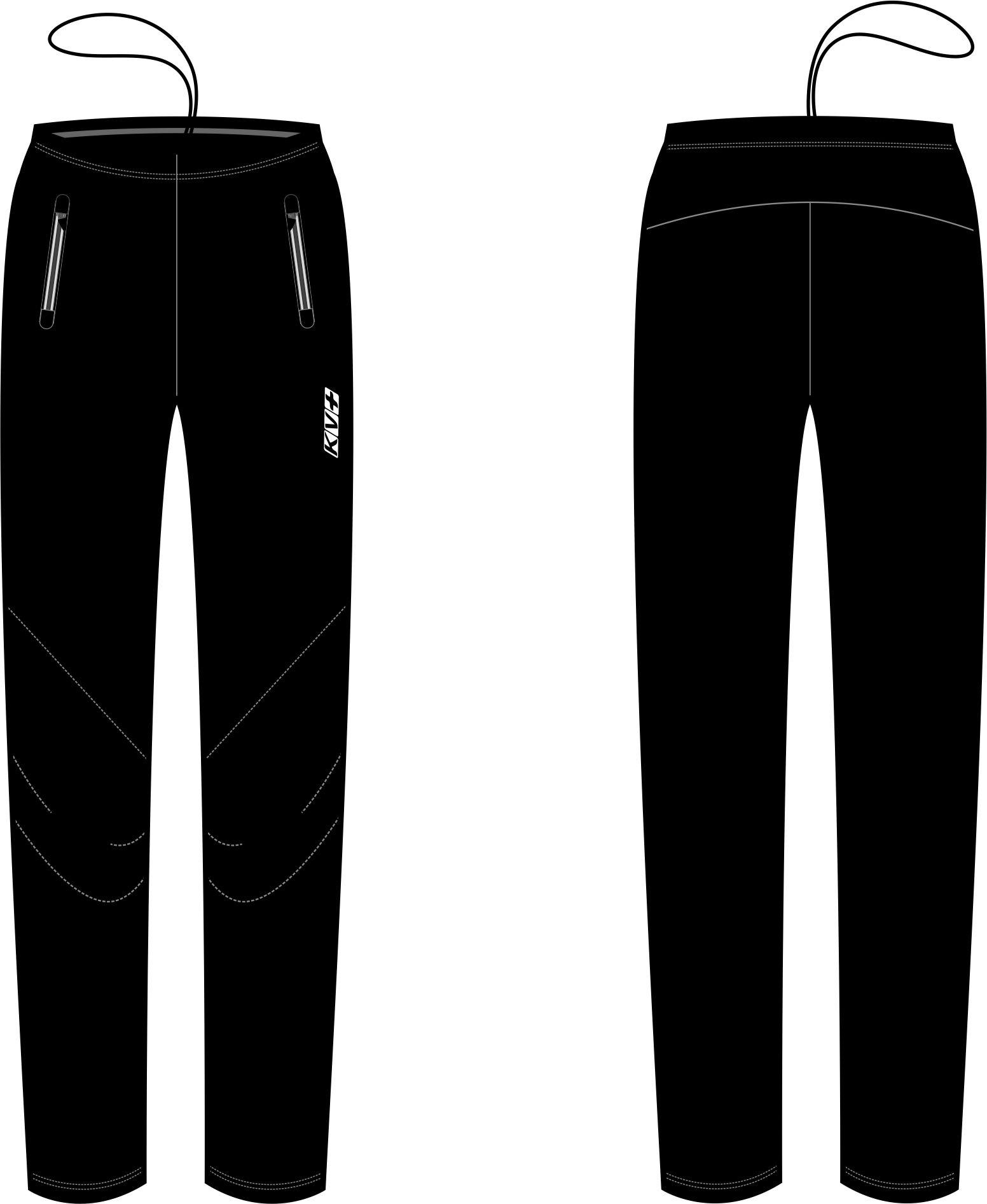 LAHTI PANTS unisex (black)