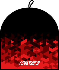 CLUB HAT & HEADBAND (black\red)