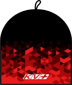 CLUB HAT & HEADBAND (black\red)