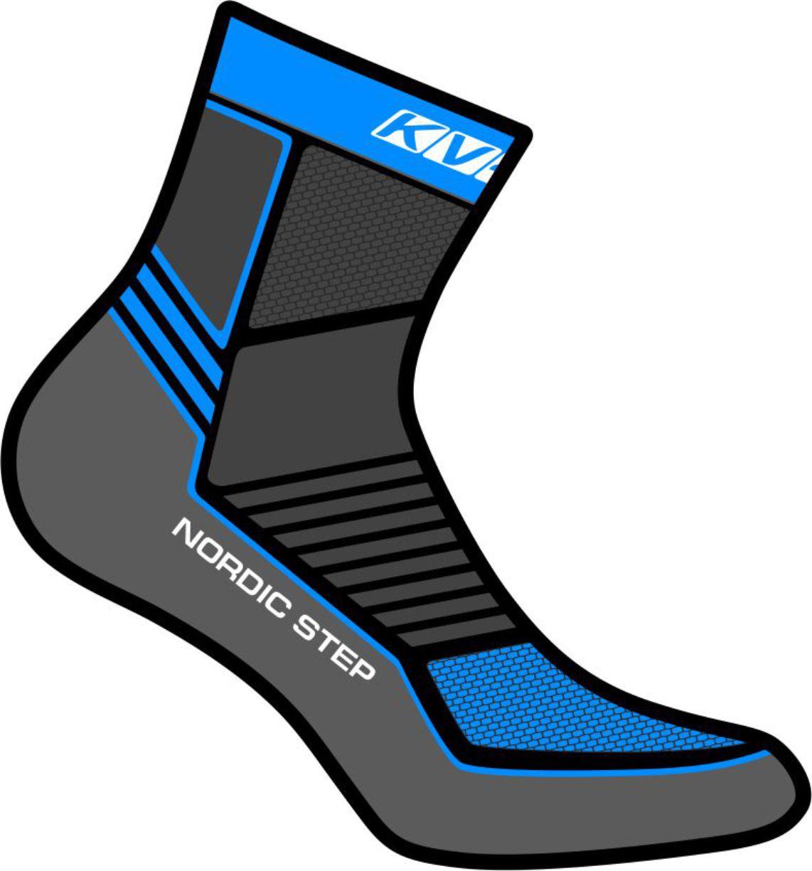 NORDIC STEP SOCKS UNISEX (gray)