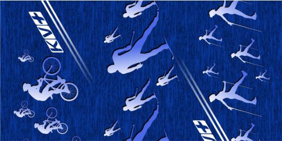 BANDANA (Multisport/blue)