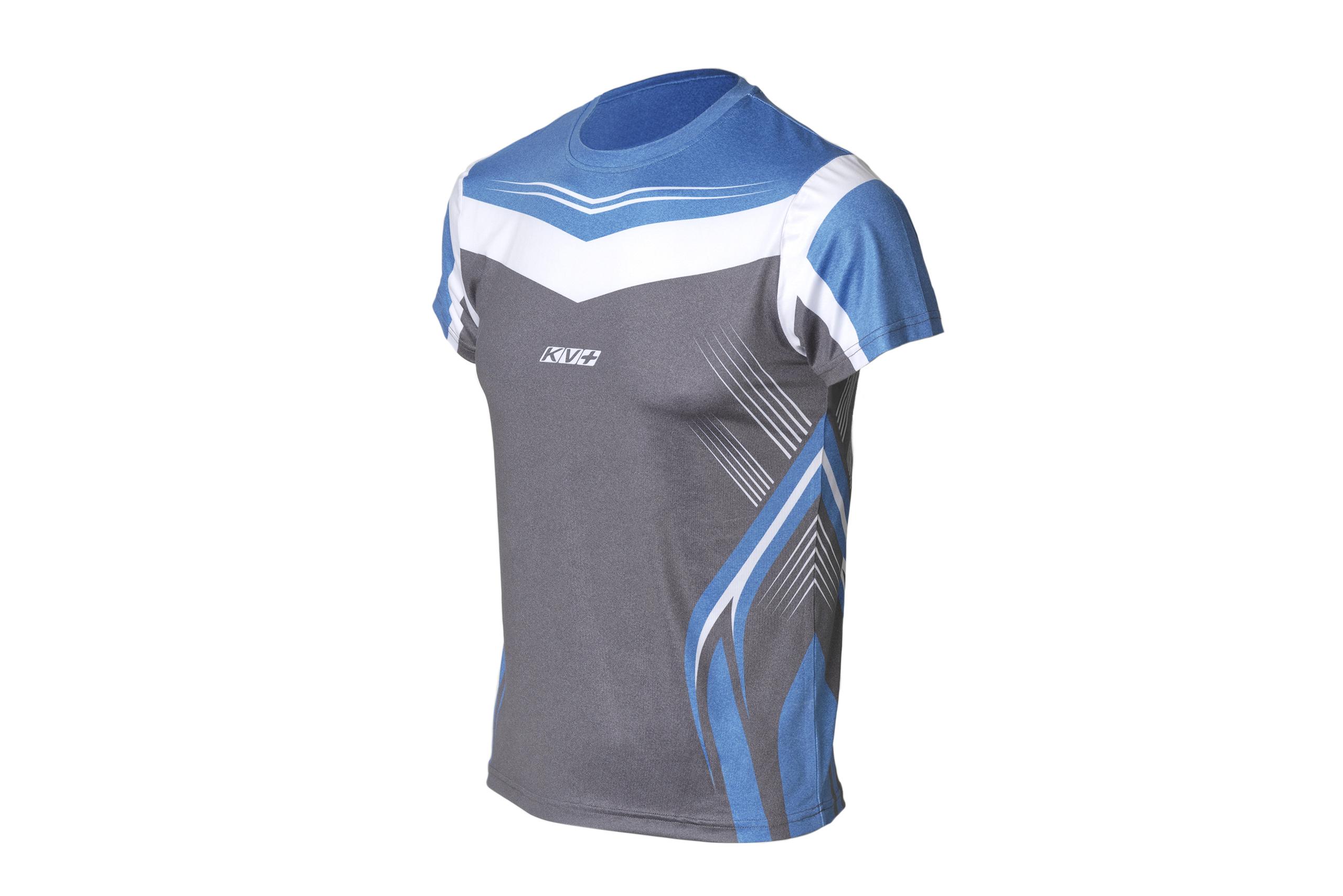 SPRINT T-SHIRT UNISEX (blue/grey)