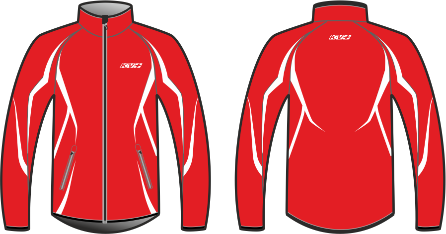 SPRINT JACKET UNISEX (red)