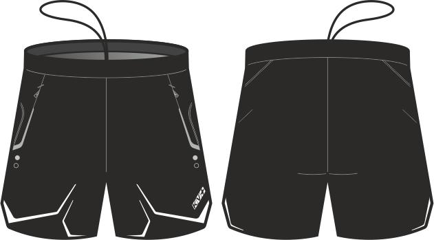 NORDIC SHORTS UNISEX (black)