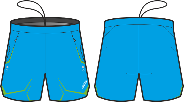 NORDIC SHORTS UNISEX (blue)