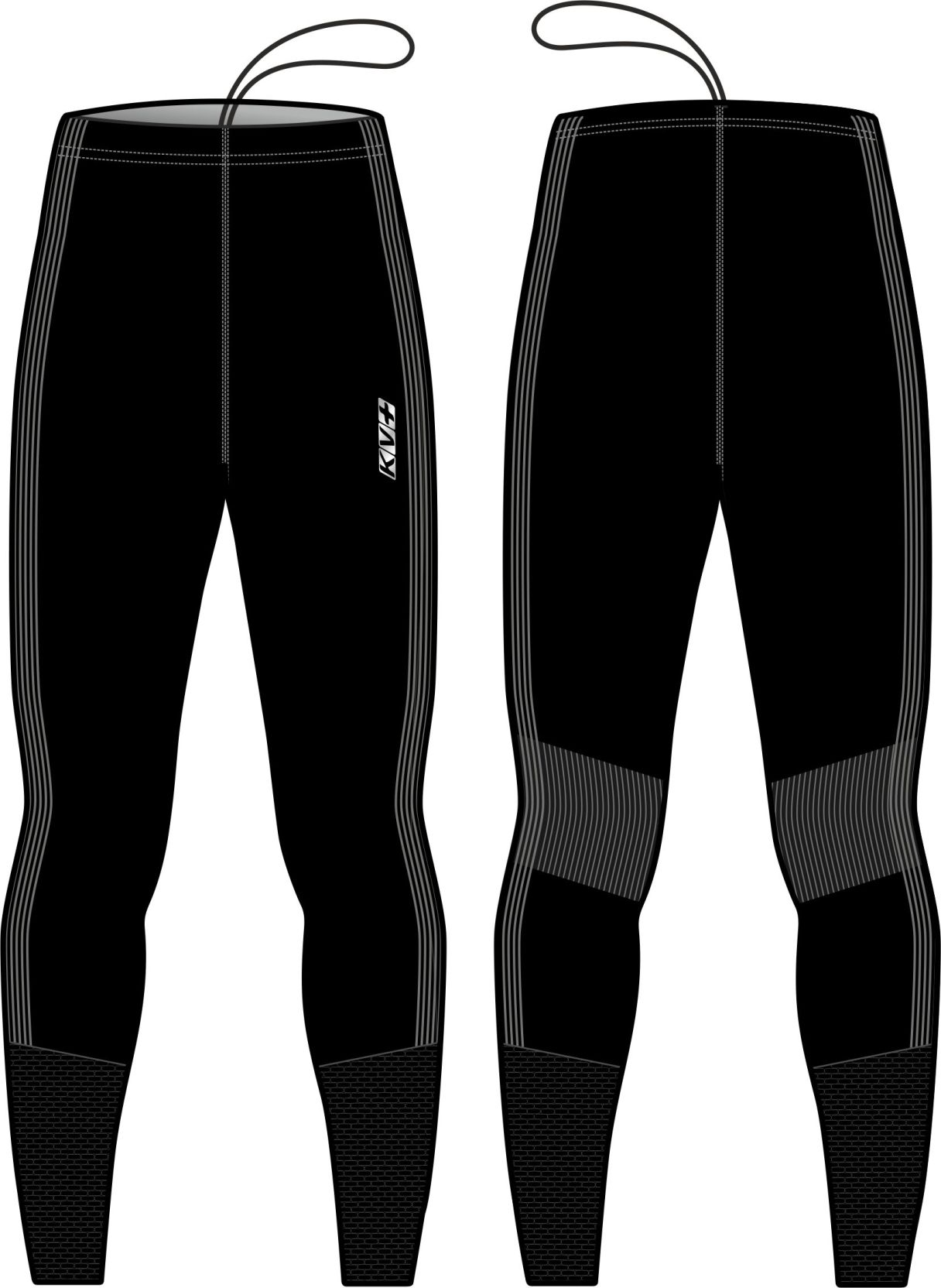SEAMLESS PANTS UNISEX (black)