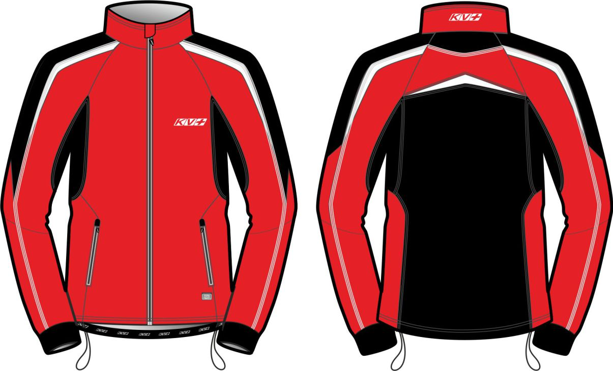 LAHTI WARM JACKET UNISEX (red/black)