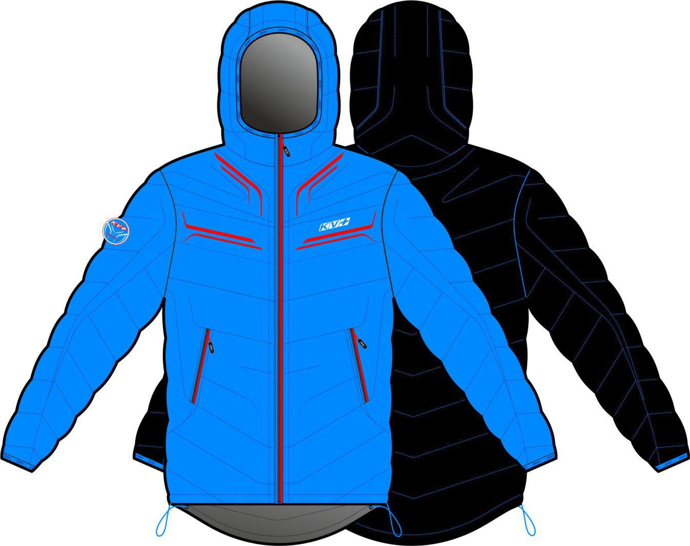 SEEFELD JACKET MAN (DOUBLE SIDED)