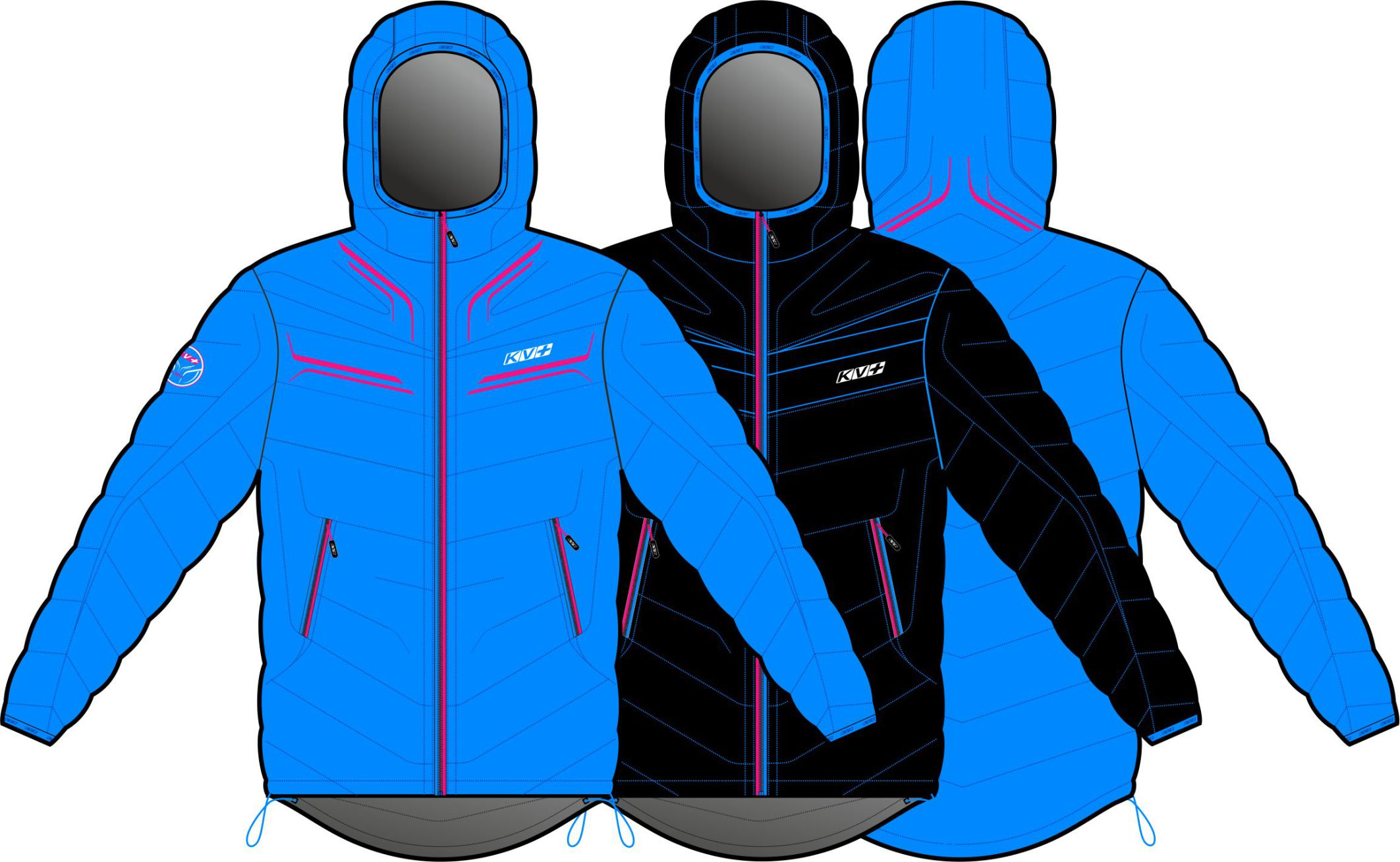 SEEFELD JACKET WOMAN (DOUBLE SIDED)
