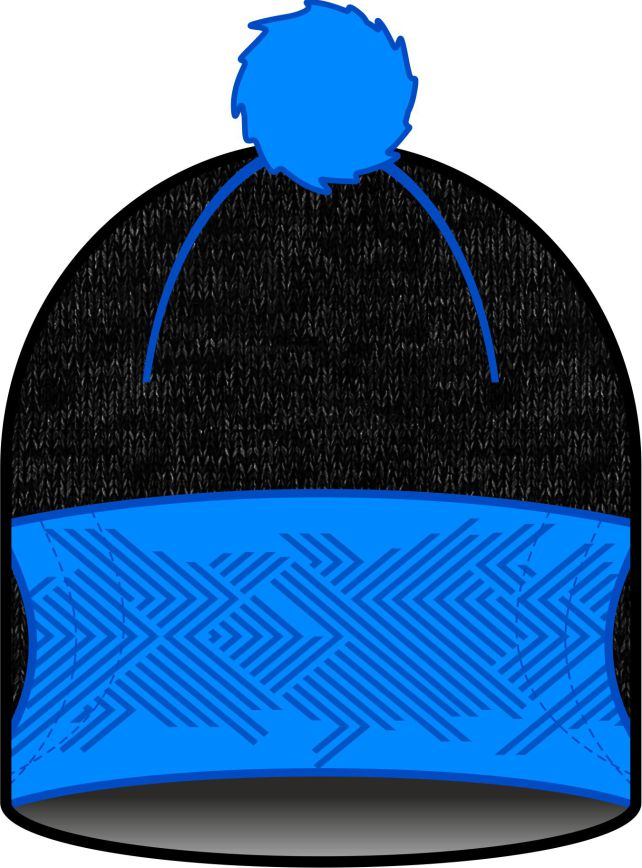 RAMSAU HAT (black/blue)