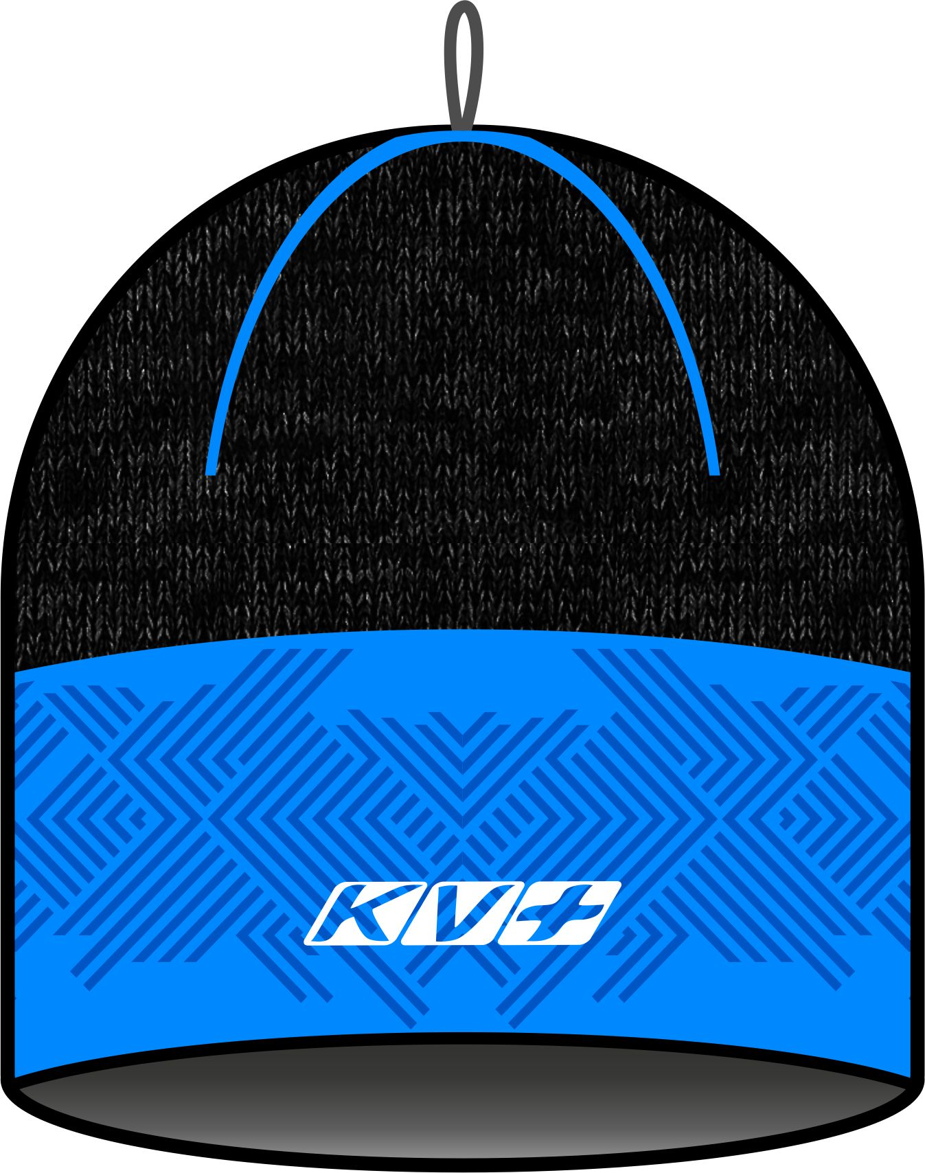 RAMSAU HAT (black/blue)