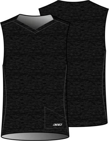 GARDA SHIRT UNISEX without sleeves (black)