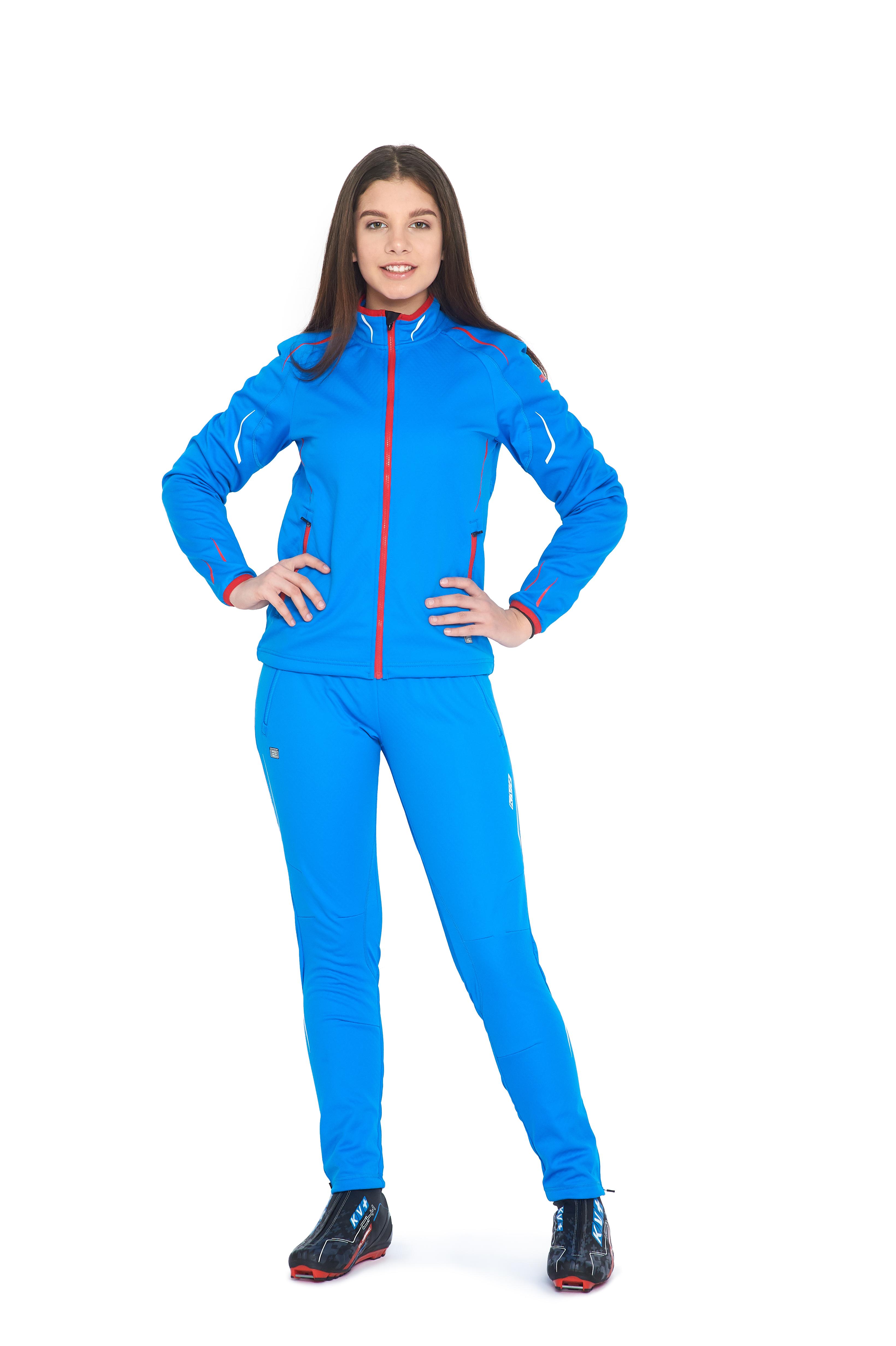 CROSS PANTS UNISEX bib & brace (blue)
