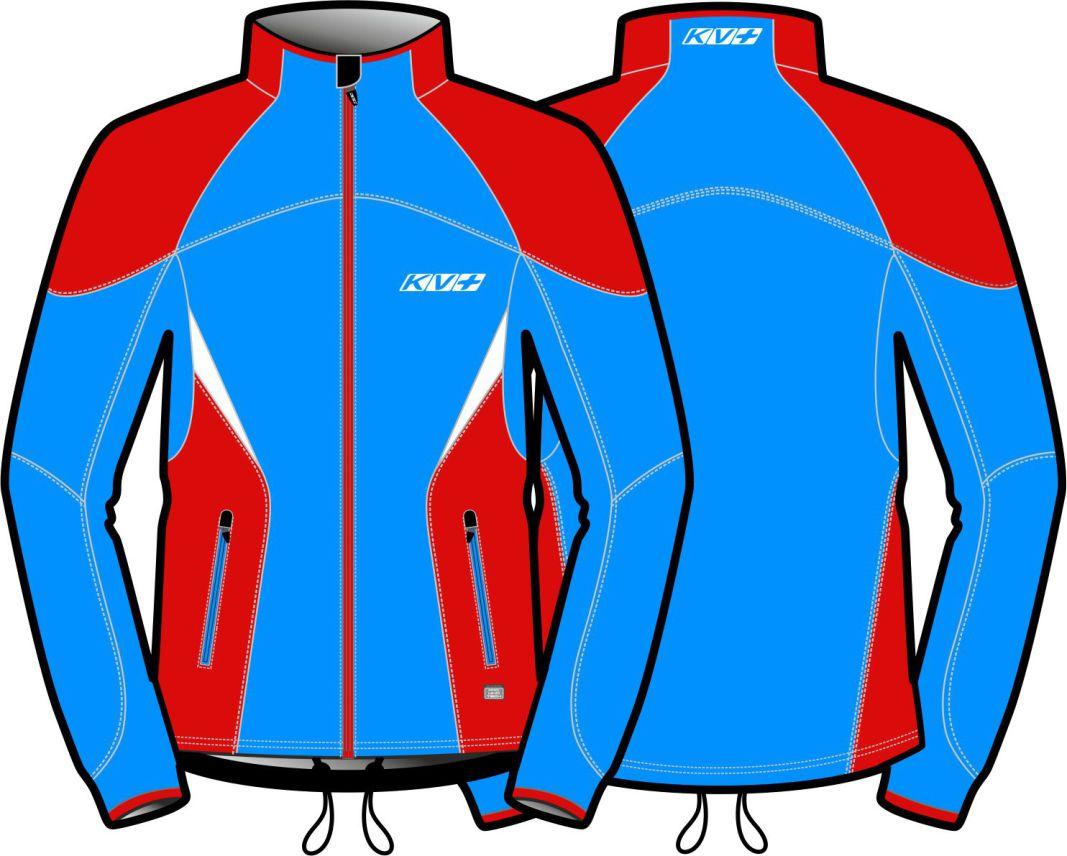 LAHTI JACKET UNISEX (blue/red)