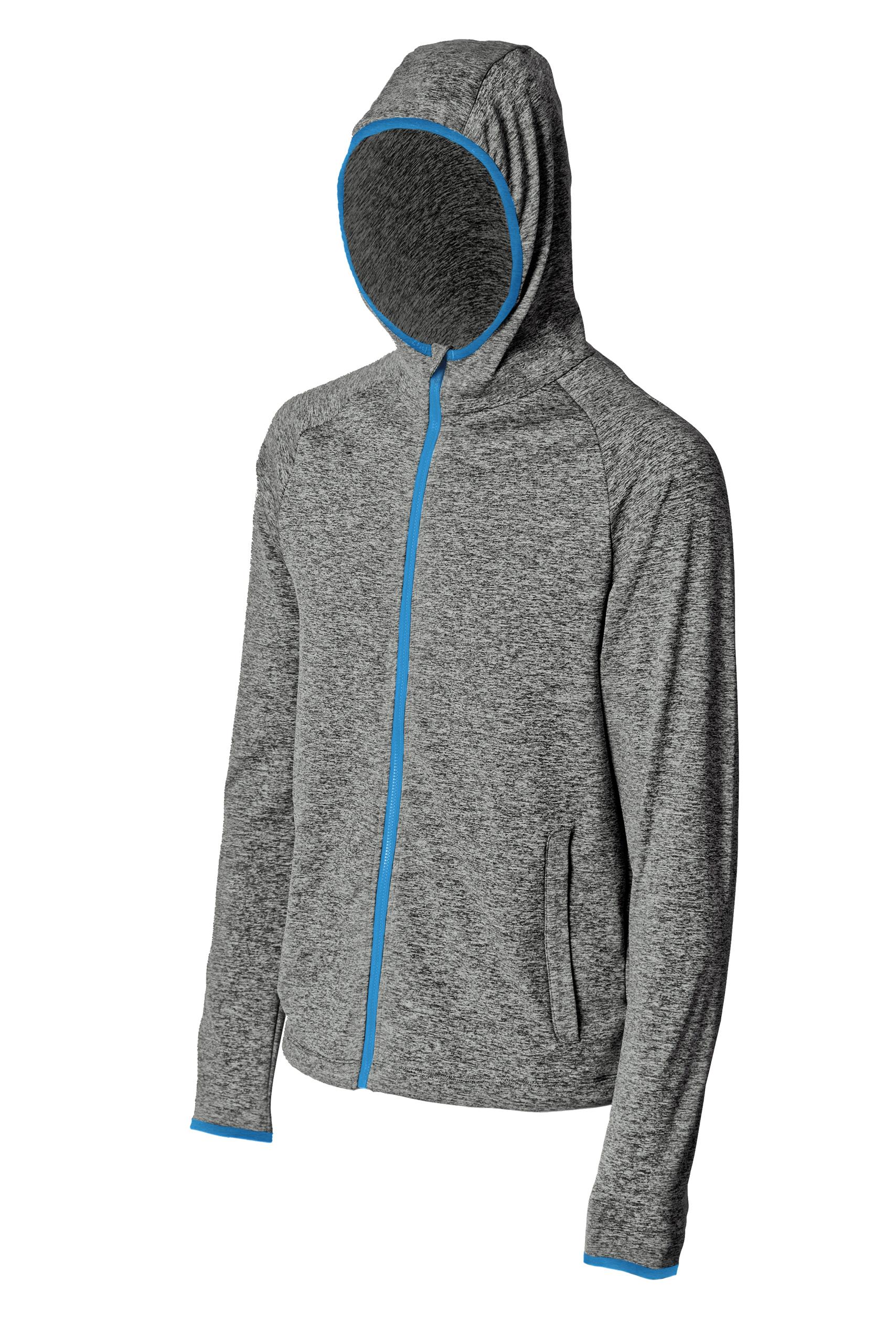 JERSEY FOCA man with hood (gray/blue)