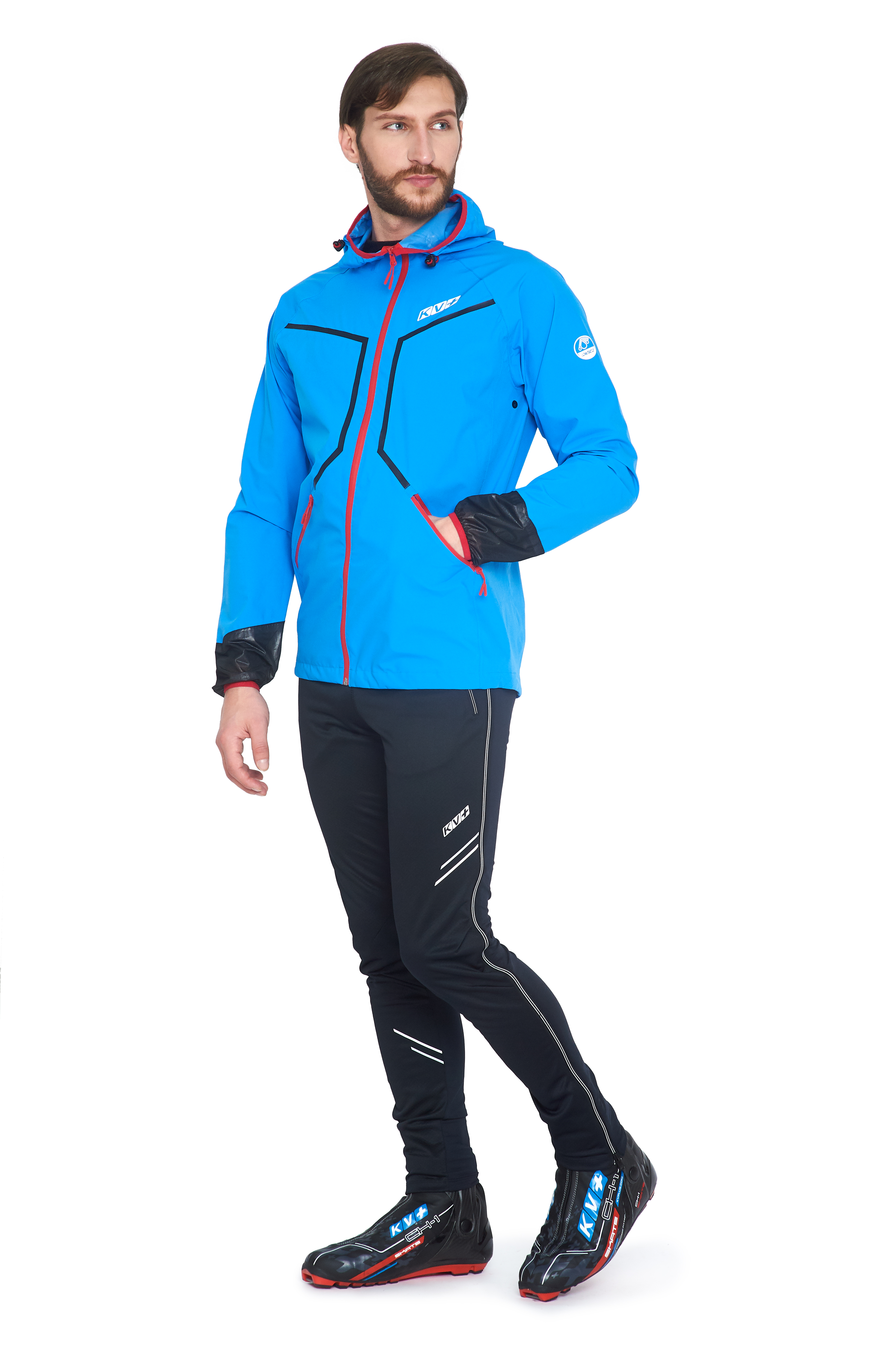 IRELAND JACKET UNISEX (WATERPROOF) (blue)