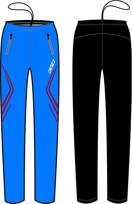 CLUB PANTS UNISEX full side zip (4)