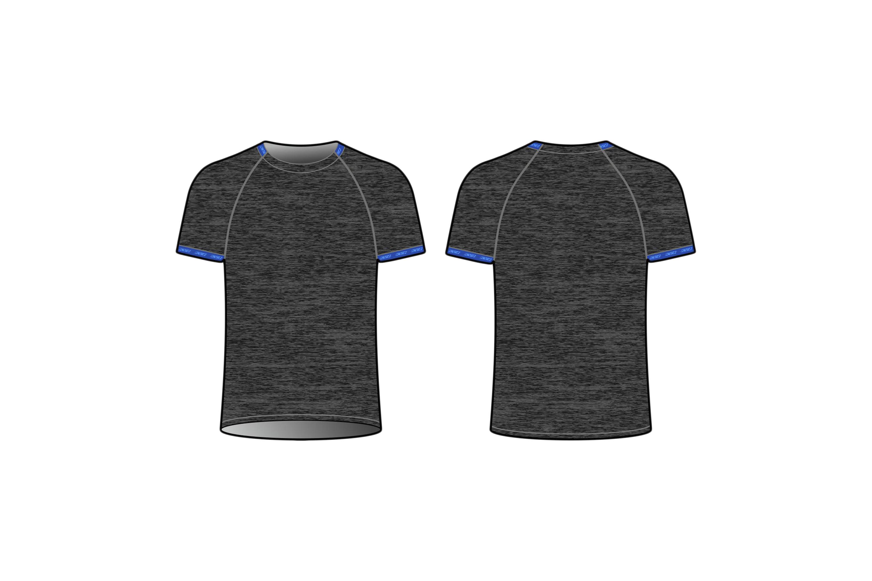 GARDA T-SHIRT UNISEX (black)