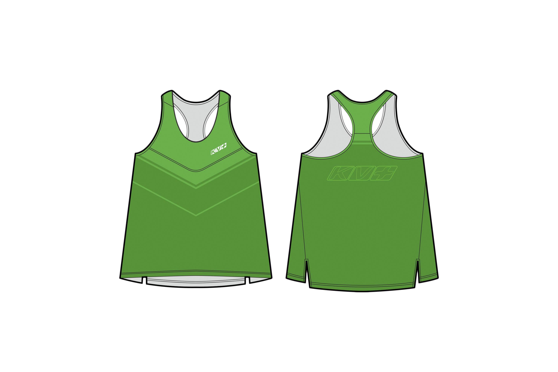 ARENA RUNNING TOP WOMAN (green)