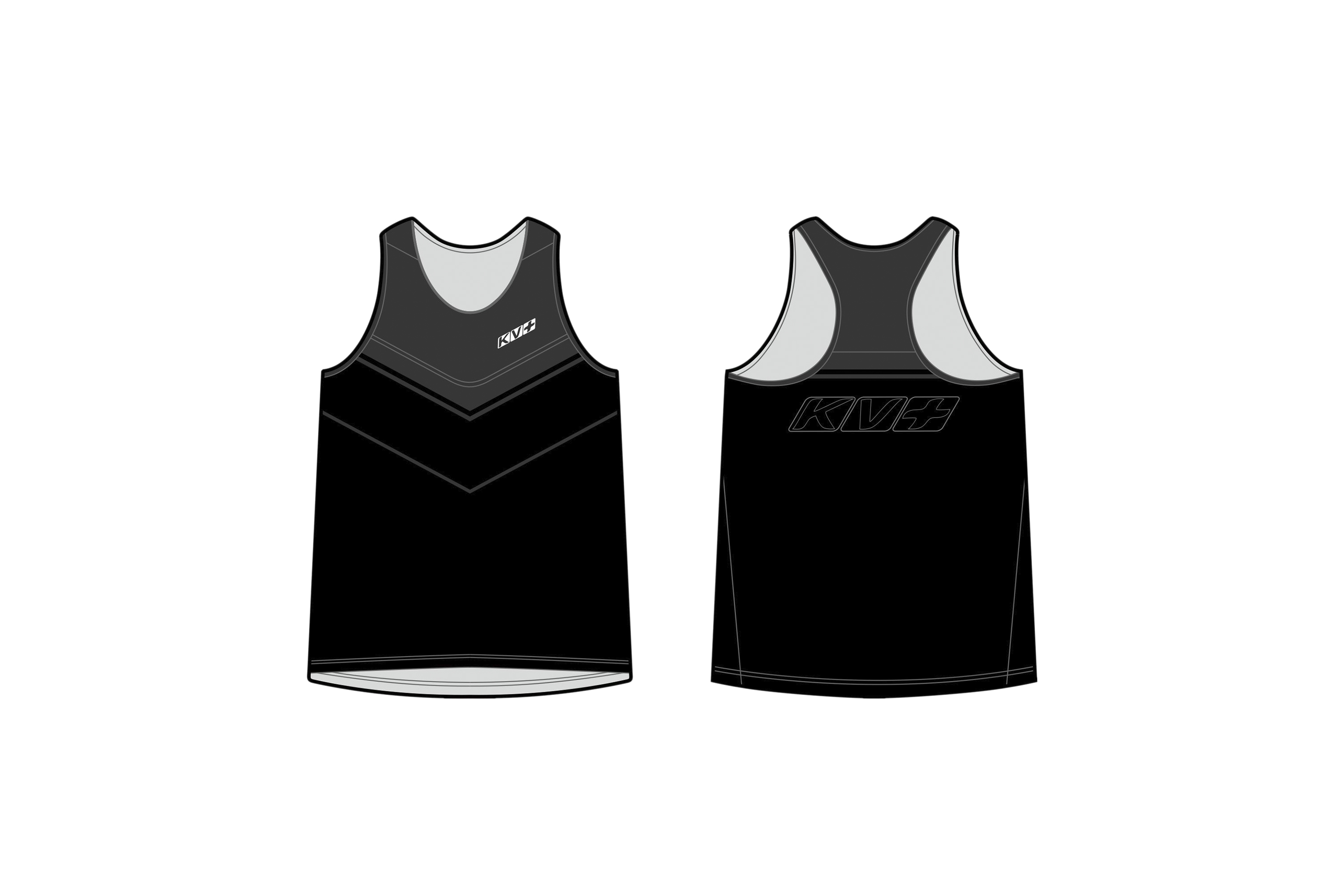 ARENA RUNNING TOP MAN (black/grey)