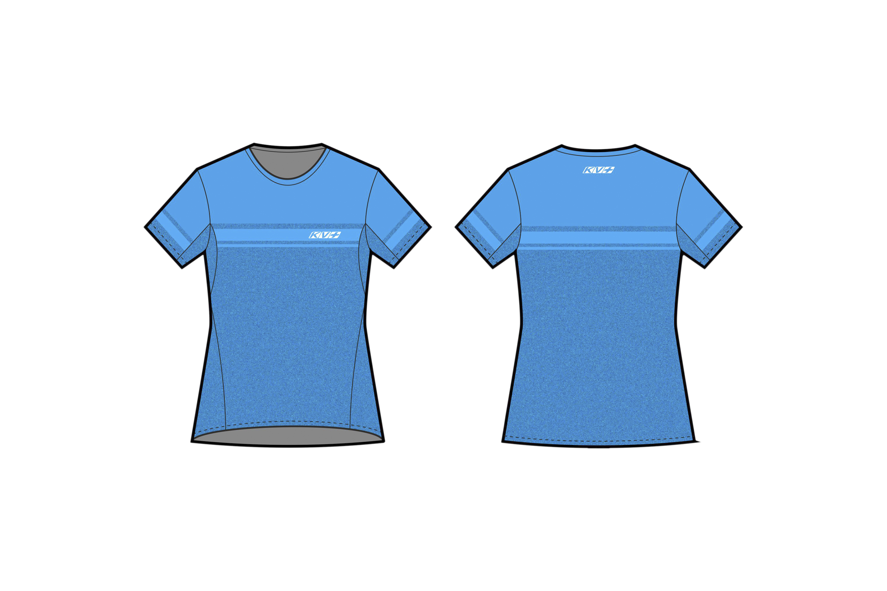 SPRINT T-SHIRT WOMAN (blue)
