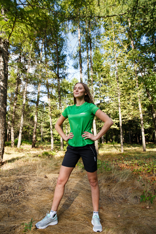 SPRINT T-SHIRT WOMAN (green)