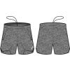 NORDIC SHORTS UNISEX (grey)