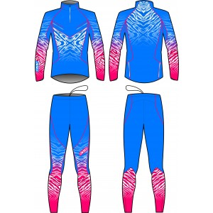 TORNADO TWO PIECES SUIT UNISEX (blue)