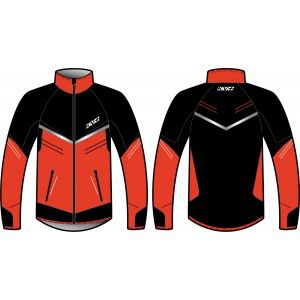PREMIUM JACKET UNISEX (black/red)