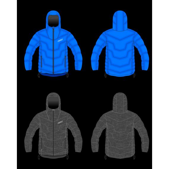 SEEFELD JACKET man double sided (black/blue)