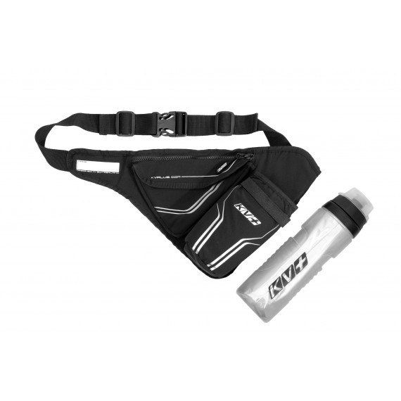 WAIST BAG WITH THERMO BOTTLE