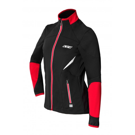 LAHTI JACKET UNISEX (black/red)