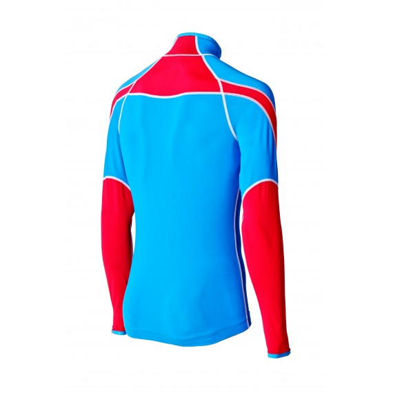 LAHTI TWO PIECES SUIT UNISEX (blue/red)
