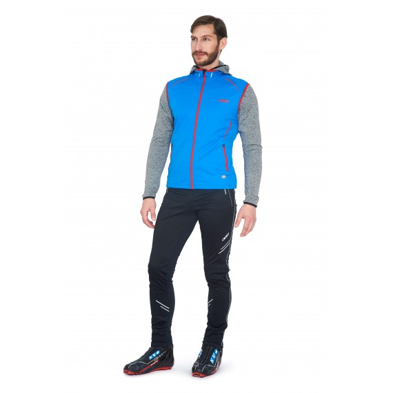 CROSS VEST UNISEX  (blue)
