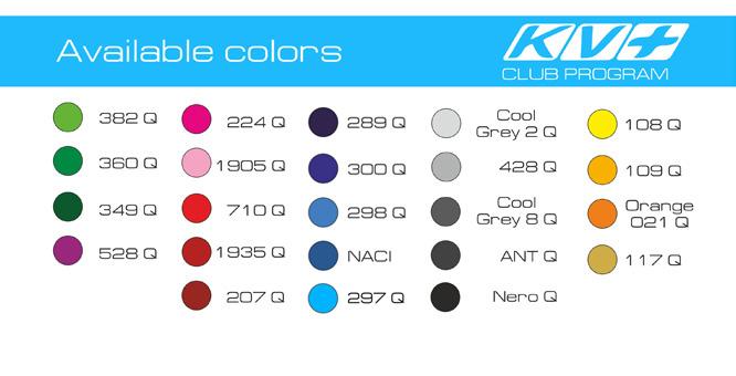 KV+ club program colors